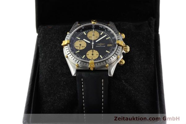 Used luxury watch Breitling Chronomat gilt steel automatic Kal. VAL 7750 Ref. 81.950  | 141262 07