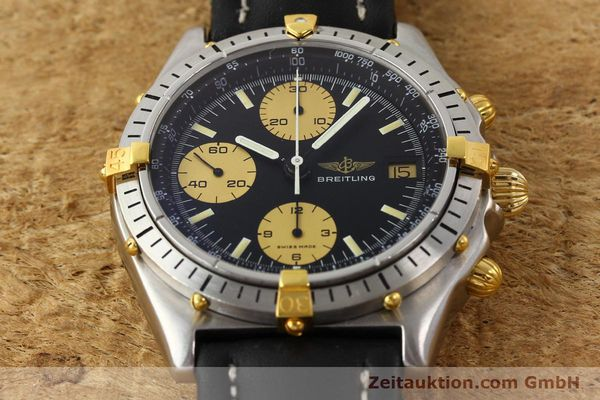 Used luxury watch Breitling Chronomat gilt steel automatic Kal. VAL 7750 Ref. 81.950  | 141262 14