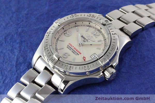 Used luxury watch Breitling Colt Oceane steel quartz Kal. B77 Ref. A77380  | 141263 01