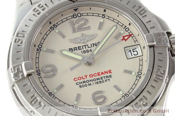 Used luxury watch Breitling Colt Oceane steel quartz Kal. B77 Ref. A77380  | 141263 02
