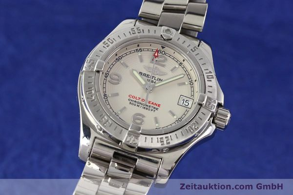 Used luxury watch Breitling Colt Oceane steel quartz Kal. B77 Ref. A77380  | 141263 04