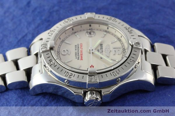 Used luxury watch Breitling Colt Oceane steel quartz Kal. B77 Ref. A77380  | 141263 05