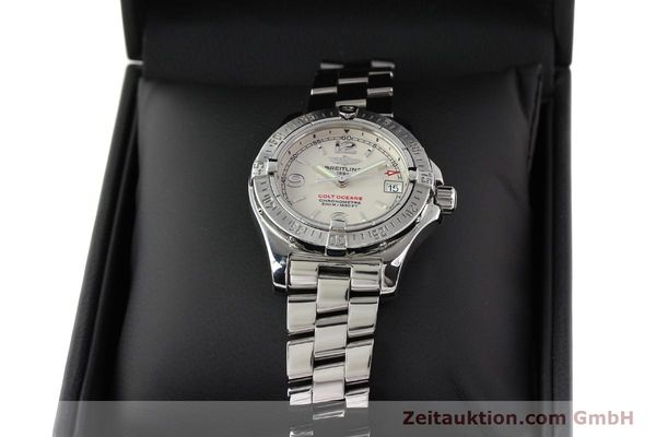 Used luxury watch Breitling Colt Oceane steel quartz Kal. B77 Ref. A77380  | 141263 07