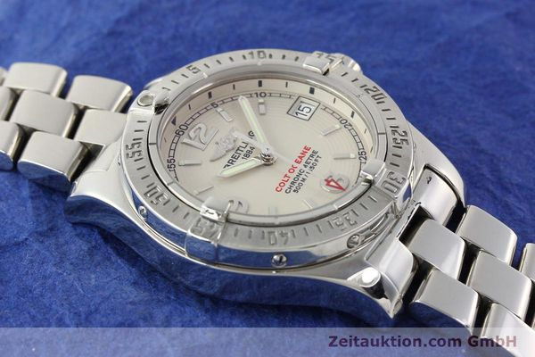 Used luxury watch Breitling Colt Oceane steel quartz Kal. B77 Ref. A77380  | 141263 12