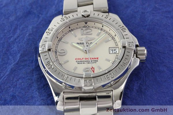 Used luxury watch Breitling Colt Oceane steel quartz Kal. B77 Ref. A77380  | 141263 13