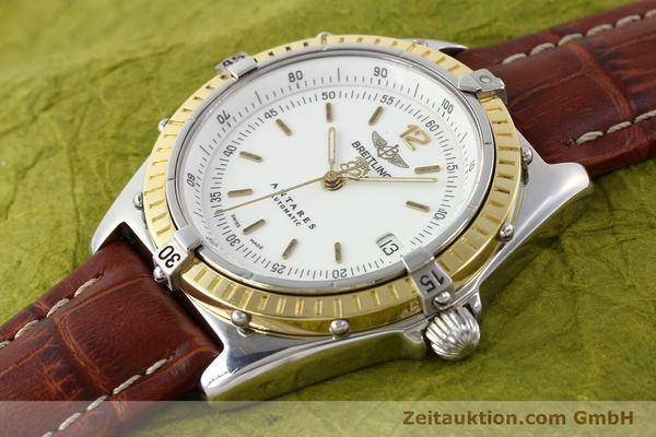 Used luxury watch Breitling Antares steel / gold automatic Kal. B10 ETA 2892-2 Ref. D10047  | 141264 01