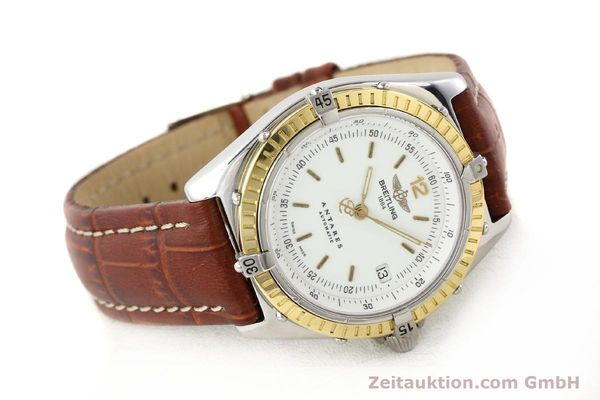 Used luxury watch Breitling Antares steel / gold automatic Kal. B10 ETA 2892-2 Ref. D10047  | 141264 03