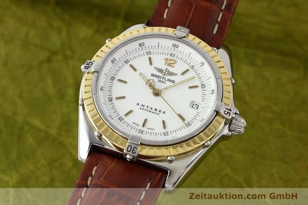 Used luxury watch Breitling Antares steel / gold automatic Kal. B10 ETA 2892-2 Ref. D10047  | 141264 04