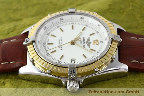 Used luxury watch Breitling Antares steel / gold automatic Kal. B10 ETA 2892-2 Ref. D10047  | 141264 05