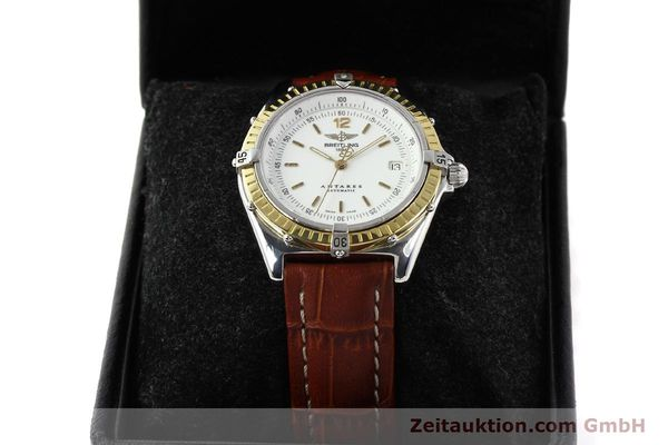 Used luxury watch Breitling Antares steel / gold automatic Kal. B10 ETA 2892-2 Ref. D10047  | 141264 07