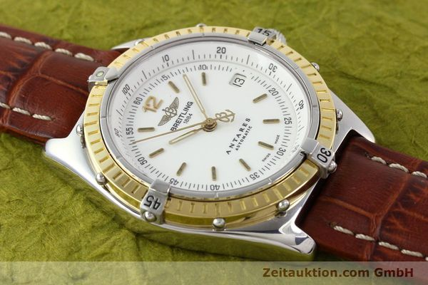 Used luxury watch Breitling Antares steel / gold automatic Kal. B10 ETA 2892-2 Ref. D10047  | 141264 13