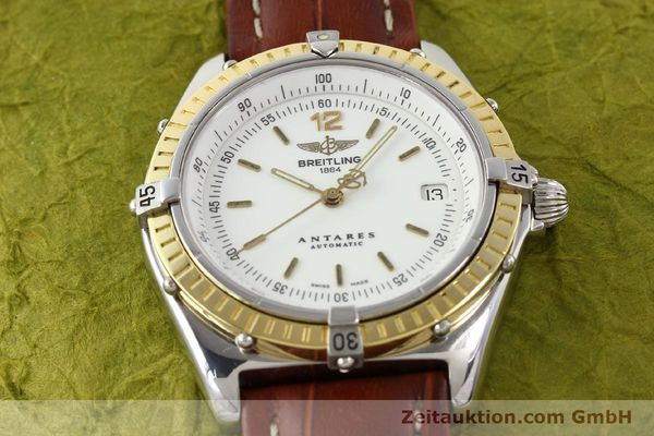 Used luxury watch Breitling Antares steel / gold automatic Kal. B10 ETA 2892-2 Ref. D10047  | 141264 14