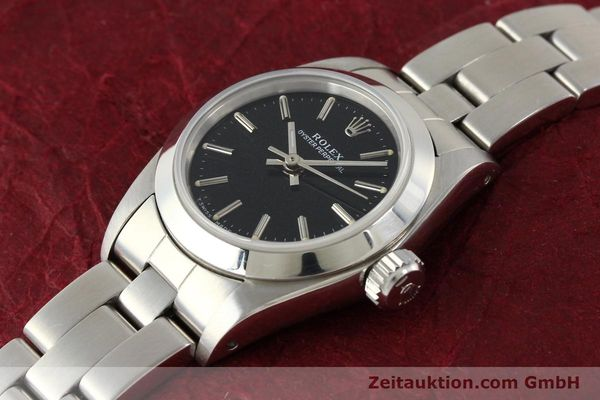 Used luxury watch Rolex Oyster Perpetual steel automatic Kal. 2130 Ref. 67180  | 141267 01