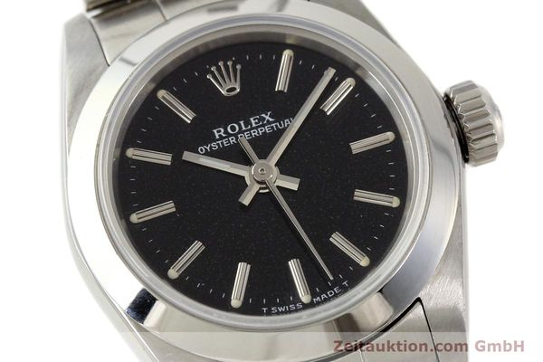 Used luxury watch Rolex Oyster Perpetual steel automatic Kal. 2130 Ref. 67180  | 141267 02