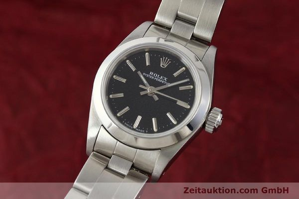 Used luxury watch Rolex Oyster Perpetual steel automatic Kal. 2130 Ref. 67180  | 141267 04