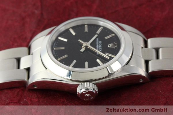 Used luxury watch Rolex Oyster Perpetual steel automatic Kal. 2130 Ref. 67180  | 141267 05