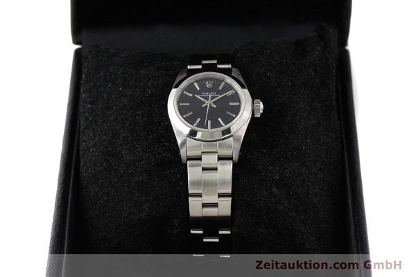 Used luxury watch Rolex Oyster Perpetual steel automatic Kal. 2130 Ref. 67180  | 141267 07