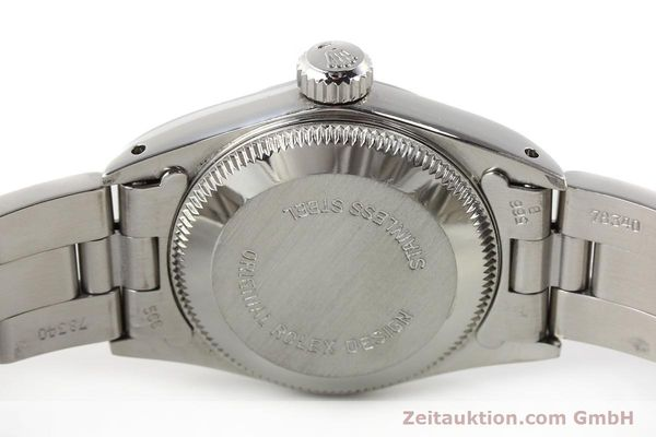Used luxury watch Rolex Oyster Perpetual steel automatic Kal. 2130 Ref. 67180  | 141267 08