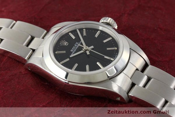 Used luxury watch Rolex Oyster Perpetual steel automatic Kal. 2130 Ref. 67180  | 141267 15