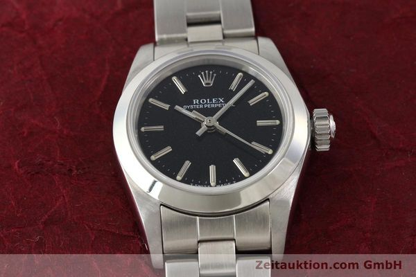 Used luxury watch Rolex Oyster Perpetual steel automatic Kal. 2130 Ref. 67180  | 141267 16
