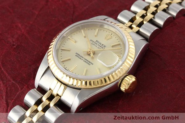 montre de luxe d occasion Rolex Lady Datejust acier / or  automatique Kal. 2135 Ref. 69173  | 141268 01