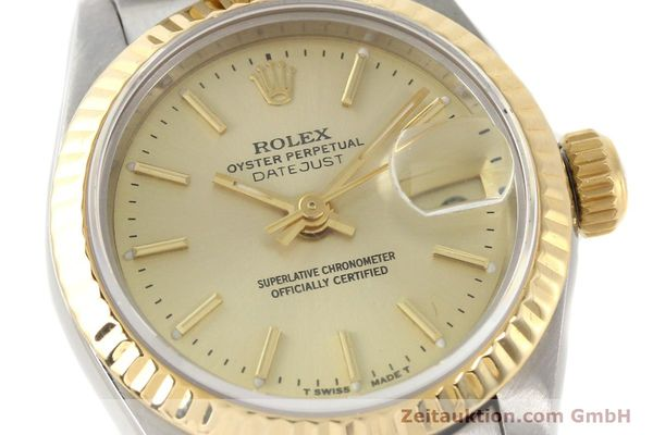 montre de luxe d occasion Rolex Lady Datejust acier / or  automatique Kal. 2135 Ref. 69173  | 141268 02