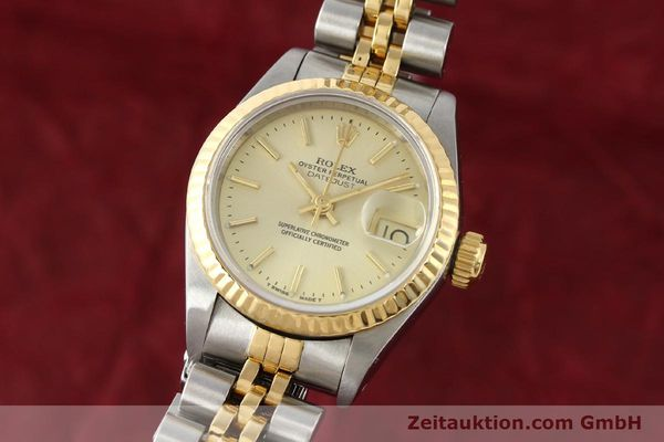 montre de luxe d occasion Rolex Lady Datejust acier / or  automatique Kal. 2135 Ref. 69173  | 141268 04