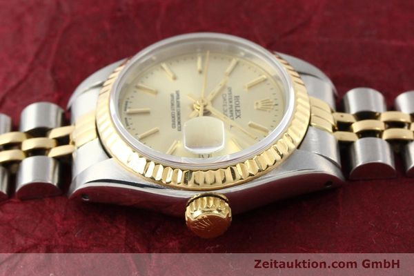 montre de luxe d occasion Rolex Lady Datejust acier / or  automatique Kal. 2135 Ref. 69173  | 141268 05