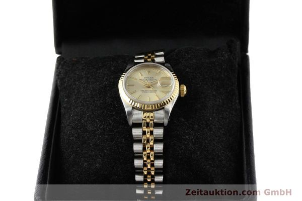 montre de luxe d occasion Rolex Lady Datejust acier / or  automatique Kal. 2135 Ref. 69173  | 141268 07
