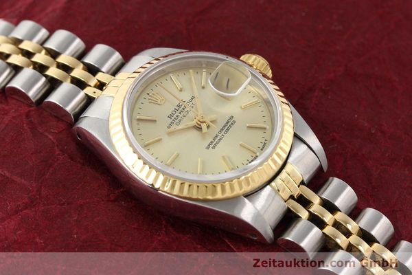 Used luxury watch Rolex Lady Datejust steel / gold automatic Kal. 2135 Ref. 69173  | 141268 14