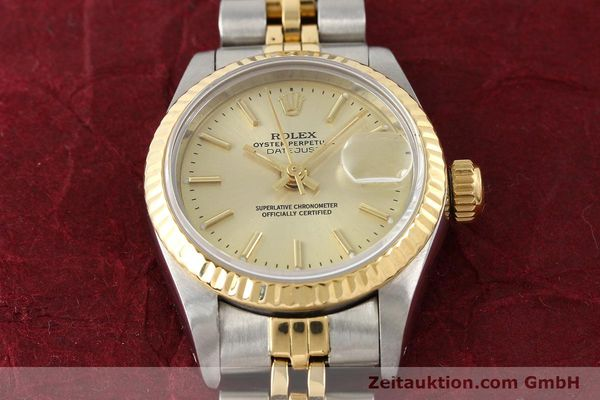 Used luxury watch Rolex Lady Datejust steel / gold automatic Kal. 2135 Ref. 69173  | 141268 15
