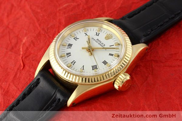 Used luxury watch Rolex Oyster Perpetual 18 ct gold automatic Kal. 1161 Ref. 6619  | 141270 01