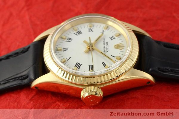 Used luxury watch Rolex Oyster Perpetual 18 ct gold automatic Kal. 1161 Ref. 6619  | 141270 05