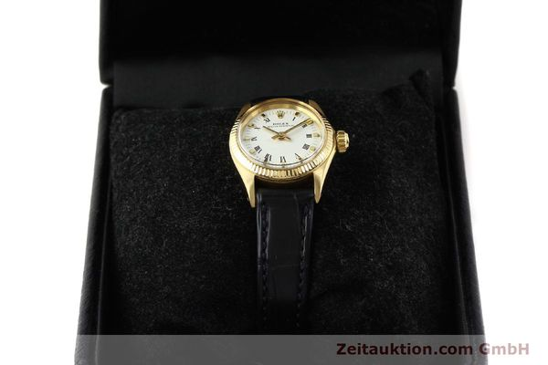 Used luxury watch Rolex Oyster Perpetual 18 ct gold automatic Kal. 1161 Ref. 6619  | 141270 07