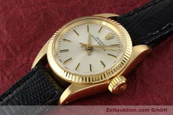 Used luxury watch Rolex Oyster Perpetual 18 ct gold automatic Kal. 2030 Ref. 6719  | 141271 01