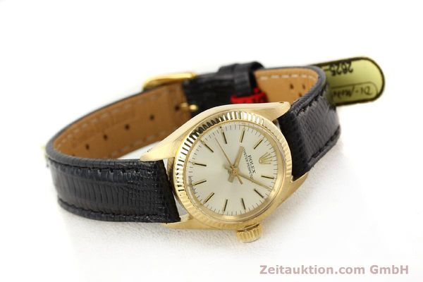 Used luxury watch Rolex Oyster Perpetual 18 ct gold automatic Kal. 2030 Ref. 6719  | 141271 03