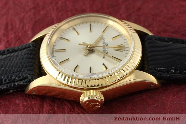 Used luxury watch Rolex Oyster Perpetual 18 ct gold automatic Kal. 2030 Ref. 6719  | 141271 05