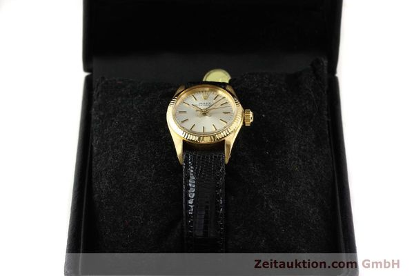 Used luxury watch Rolex Oyster Perpetual 18 ct gold automatic Kal. 2030 Ref. 6719  | 141271 07