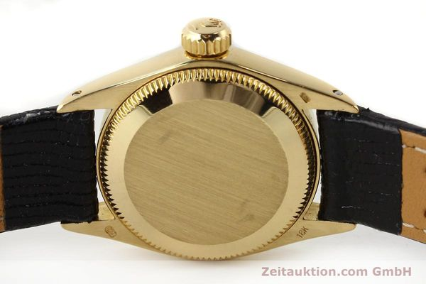 Used luxury watch Rolex Oyster Perpetual 18 ct gold automatic Kal. 2030 Ref. 6719  | 141271 08