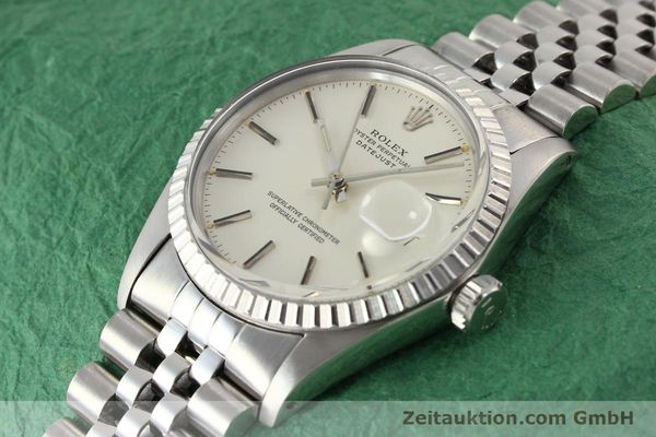 Used luxury watch Rolex Datejust steel automatic Kal. 3035 Ref. 16030  | 141272 01