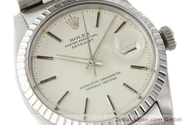 Used luxury watch Rolex Datejust steel automatic Kal. 3035 Ref. 16030  | 141272 02