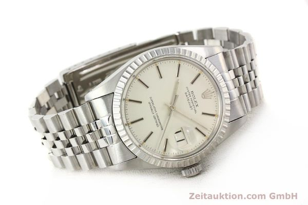 Used luxury watch Rolex Datejust steel automatic Kal. 3035 Ref. 16030  | 141272 03