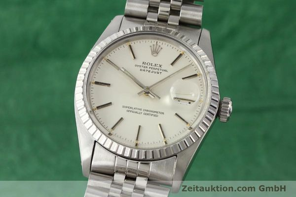 Used luxury watch Rolex Datejust steel automatic Kal. 3035 Ref. 16030  | 141272 04
