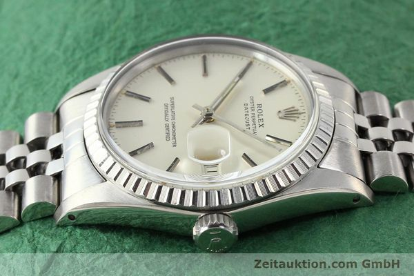 Used luxury watch Rolex Datejust steel automatic Kal. 3035 Ref. 16030  | 141272 05