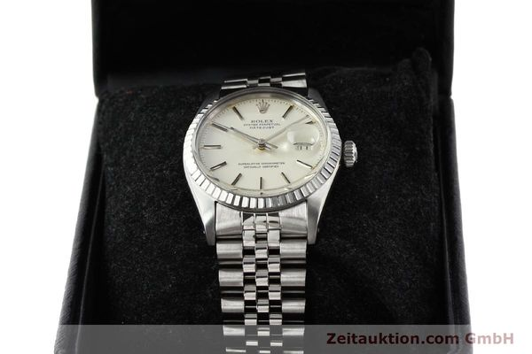 Used luxury watch Rolex Datejust steel automatic Kal. 3035 Ref. 16030  | 141272 07