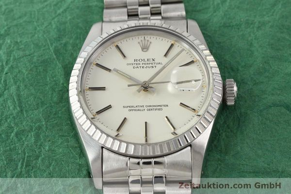 Used luxury watch Rolex Datejust steel automatic Kal. 3035 Ref. 16030  | 141272 15