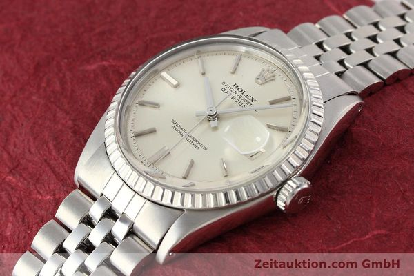 Used luxury watch Rolex Datejust steel automatic Kal. 1570 Ref. 1601-3  | 141273 01