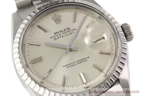 Used luxury watch Rolex Datejust steel automatic Kal. 1570 Ref. 1601-3  | 141273 02