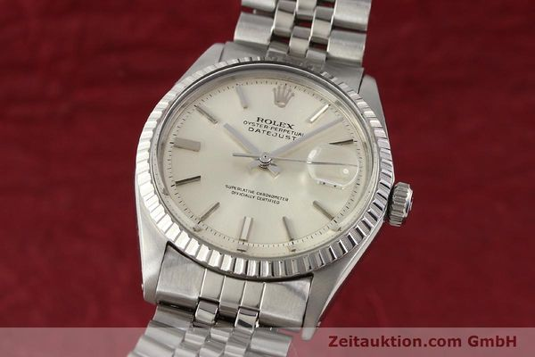 Used luxury watch Rolex Datejust steel automatic Kal. 1570 Ref. 1601-3  | 141273 04