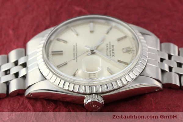 Used luxury watch Rolex Datejust steel automatic Kal. 1570 Ref. 1601-3  | 141273 05